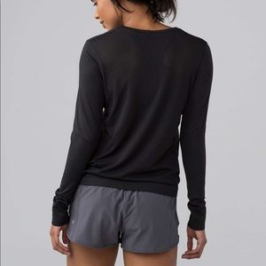 LULULEMON Athletica Perforated Long Sleeve
